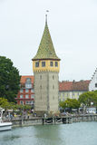 Old Lighthouse Lindau, Lake Constance Stock Images