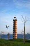 Old lighthouse lisbon Stock Image