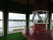 Old lighthouse, Lithuania Royalty Free Stock Image