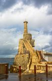 Old lighthouse in Malta Royalty Free Stock Image