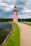Old Lighthouse, Moritzburg Stock Photo