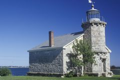 Old Lighthouse Museum in Stonington, CT Royalty Free Stock Photo