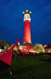 Old Lighthouse by night, Wangerooge, Germany Royalty Free Stock Photography