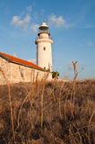 Old lighthouse of Paphos Stock Photography