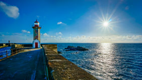Old lighthouse in Porto Royalty Free Stock Photography