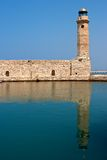 Old lighthouse. Rethymno, Crete Royalty Free Stock Photography