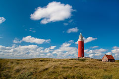 Old lighthouse on a seashore Royalty Free Stock Photos