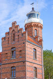 Old lighthouse in Ustka Stock Images