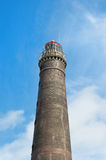 Old lighthouse wadden island Borkum Royalty Free Stock Images