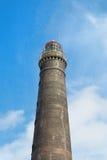 Old lighthouse wadden island Borkum. Old lighthouse at German wadden island Borkum royalty free stock images