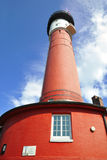 Old lighthouse of Wangerooge, Germany. Old lighthouse of the East-Frisian island Wangerooge in Germany, North-Sea Royalty Free Stock Photo