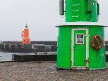 Old lighthouses, Denmark Stock Photo