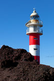 Old Ligthouse in Punta Teno, Tenerife Stock Images