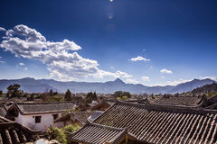 Old Lijiang. Yunnan province in China royalty free stock photo