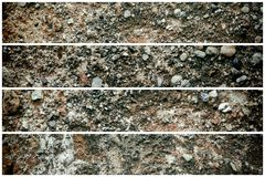 Old like Mars texture, stone wall background or rock surface - good for web site or mobile devices.  royalty free stock photo