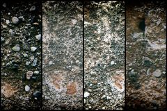 Old like Mars texture, stone wall background or rock surface - good for web site or mobile devices.  royalty free stock images