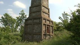 Old lime kiln stock video