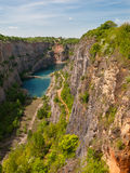 Old lime quarry called Big Amerika Royalty Free Stock Image