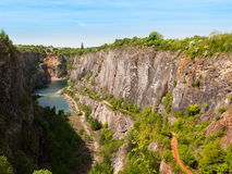 Old lime quarry called Big Amerika Royalty Free Stock Photography