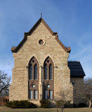 Old lime stone church Royalty Free Stock Images