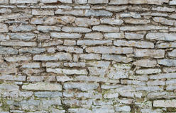 Old limestone wall as background Stock Photography