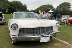 Old lincoln continental. Frontend. classic 1956 Lincoln Continental Mark II at event in south Florida Stock Photo