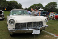 Old lincoln continental. Frontend. classic 1956 Lincoln Continental Mark II at event in south Florida Stock Photography