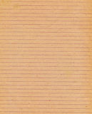 Old lined paper background Stock Photo