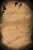 Old lined paper. Rusty paper grunge style background Royalty Free Stock Photos