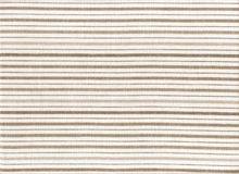 Old linen. Old cotton fabric with brown stripes Stock Photos