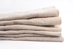 Old linen ancient fabric Royalty Free Stock Photo