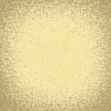 Old linen fabric texture with vignette Royalty Free Stock Image