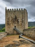 Old Linhares castle Stock Photography