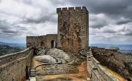 Old Linhares castle Royalty Free Stock Photo