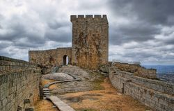 Old Linhares castle Royalty Free Stock Image