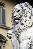 Old lion sculpture Royalty Free Stock Photography