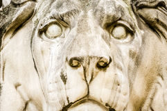 Old lion statue Royalty Free Stock Photography