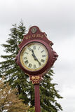 Old Lions Club Clock Royalty Free Stock Photos
