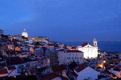 Old lisbon Royalty Free Stock Photo