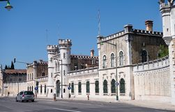 Old Lisbon prison. Aljube Museum Resistance and Freedom in Lisbon, old jail of political prisoners. - Portugal Stock Photos