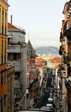 Old Lisbon street Stock Photography