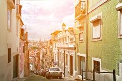 Old Lisbon street Royalty Free Stock Image