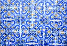 Old Lisbon tiles , azulejos. Portugal Royalty Free Stock Photos