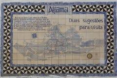 Old Lisbon tiles , azulejos Stock Images