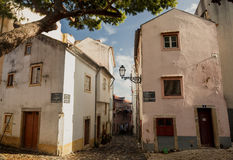 Old Lissabon houses Stock Photography