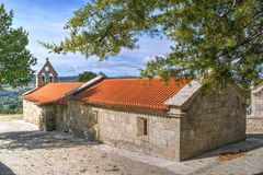 Old little church in Boticas Royalty Free Stock Photography