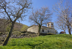 Old Little Church on the Slovenian Karst Royalty Free Stock Images