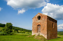 Old little church in tuscany Royalty Free Stock Photos