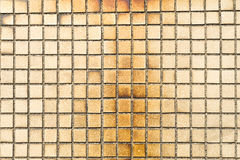 Old Little tiles which have stained Royalty Free Stock Image