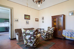Old living room in country house Stock Photo